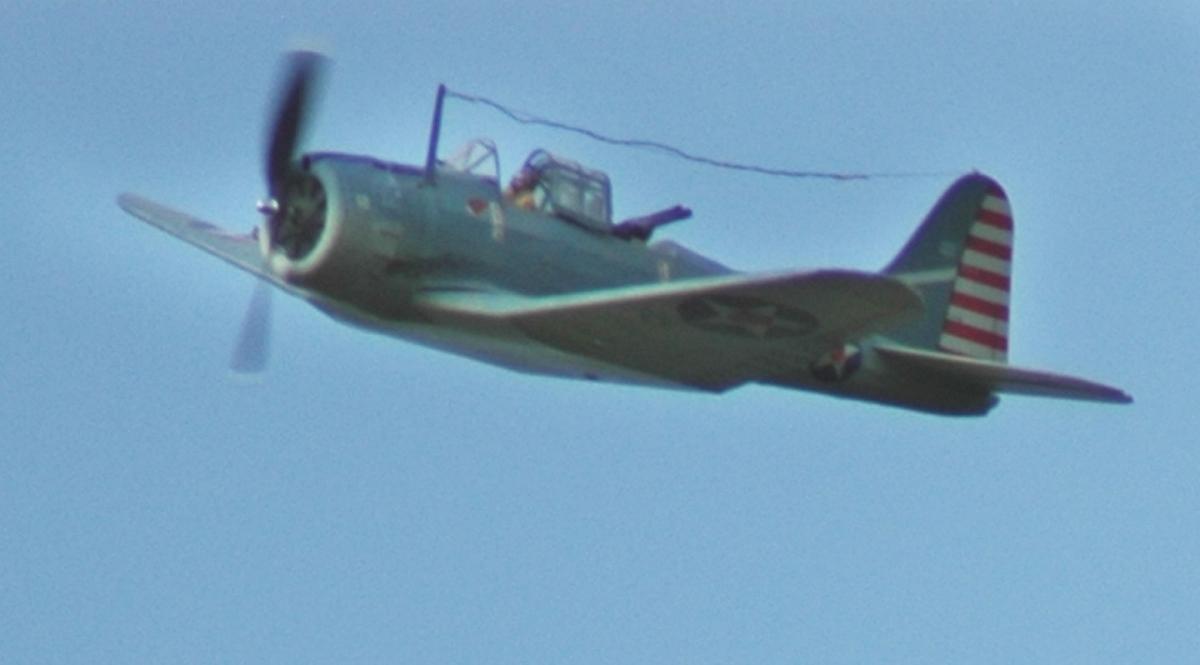 Warbird Contest 2010 - Guillow SBD-3 Dauntless - WattFlyer RC