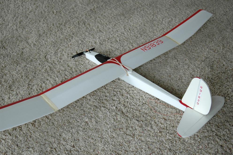 60 inch Motor Glider from Dollar Tree foam board - WattFlyer RC
