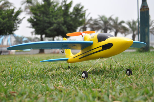 EasySky 2 4G 4ch Micro Super Piper Cub J3 - WattFlyer RC Electric