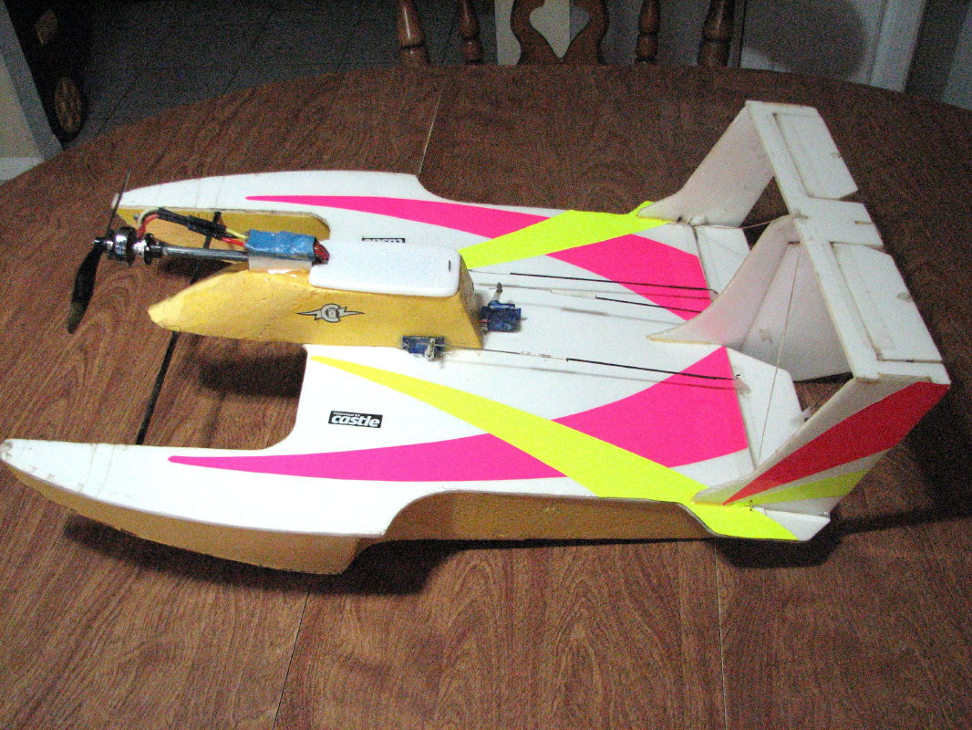 Hydroplane Receiver Ready - WattFlyer RC Electric Flight ...