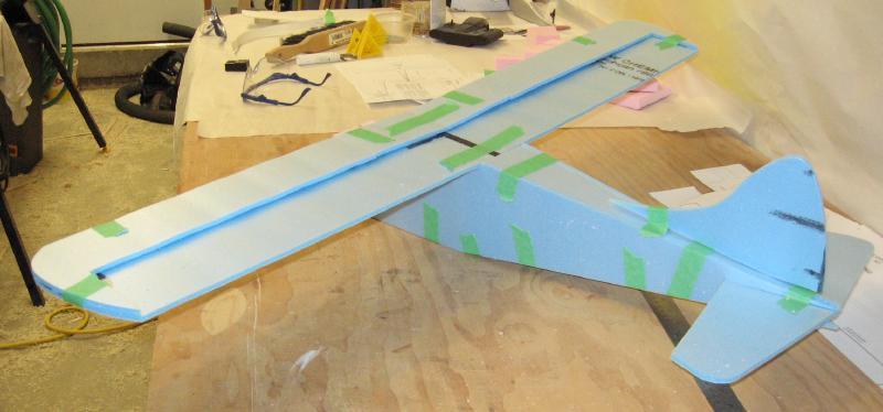 DHC-2_Beaver_Build_-_Rear_Mockup_2