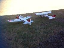 T28_and_Cessna_182